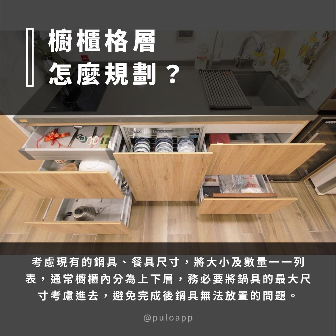 廚房櫥櫃尺寸怎麼規劃?3大重點+超萬能公式!--PULO裝潢平台
