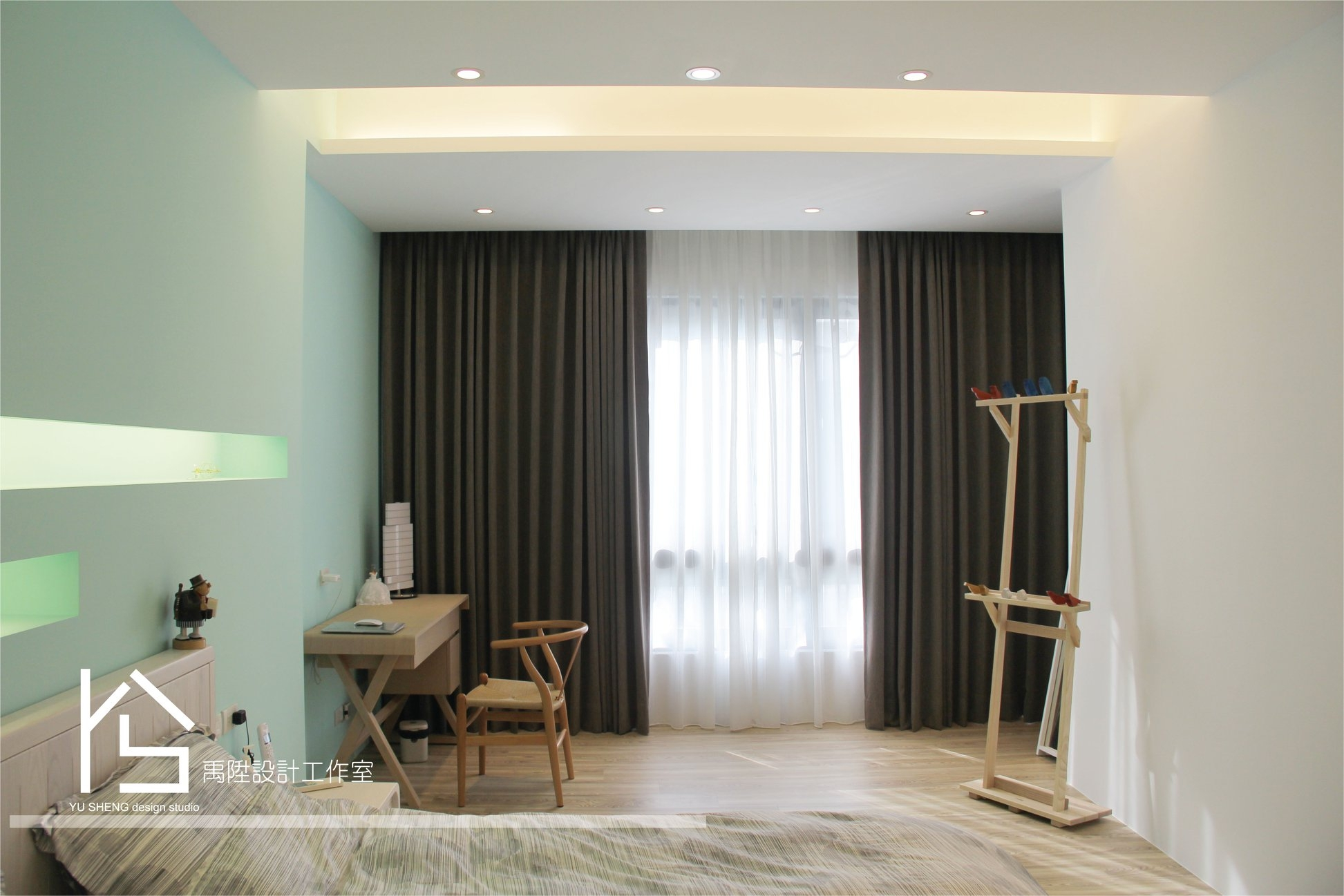 油漆配色大加分!15款舒適綠色系裝潢實例分享!