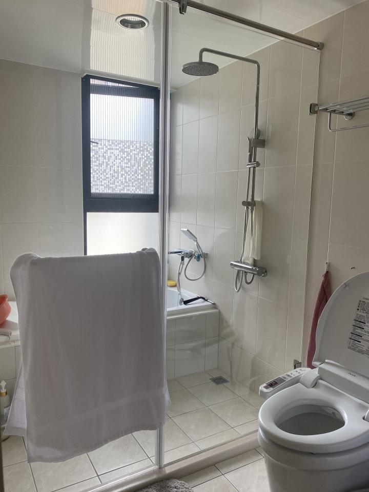 台中室內設計案例,三房改兩房的北屯簡約宅,打造人貓生活美居衛浴作品圖