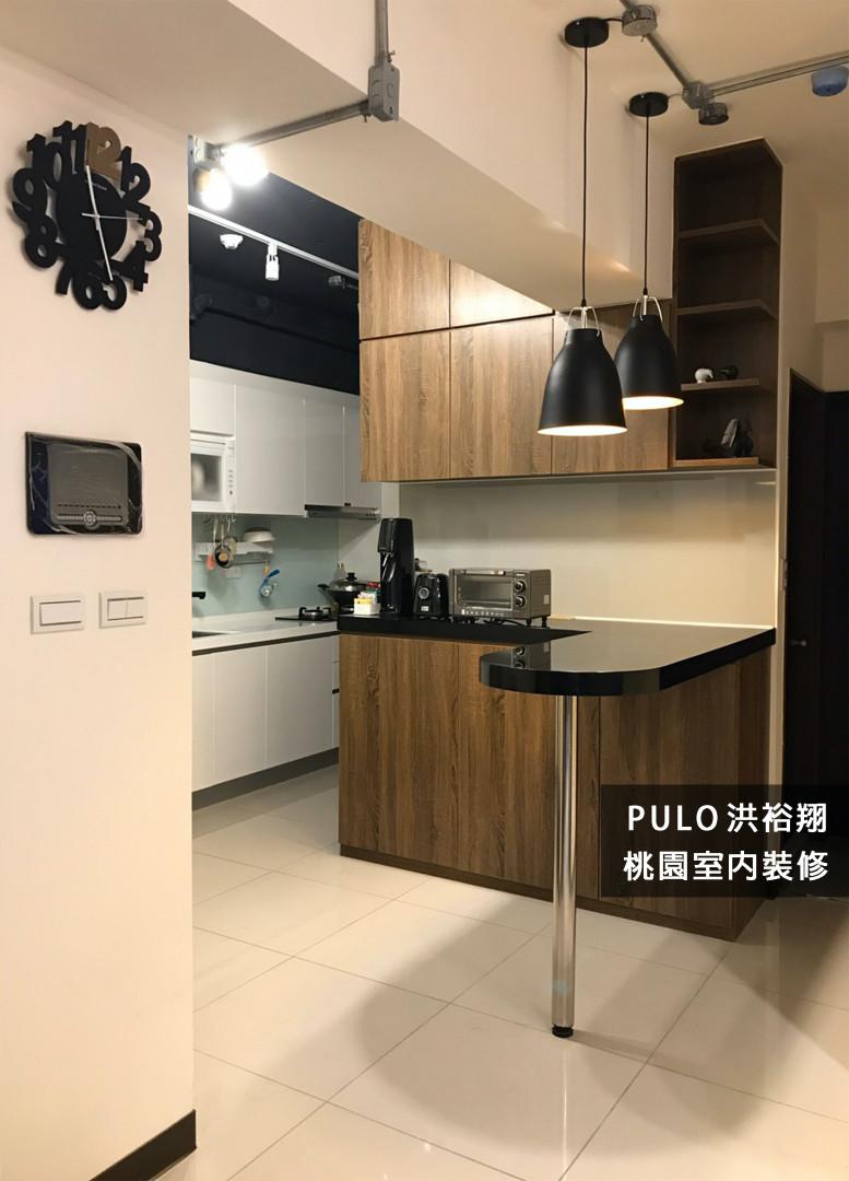 42種木質風廚房餐桌系列裝潢靈感-桃園室內裝修