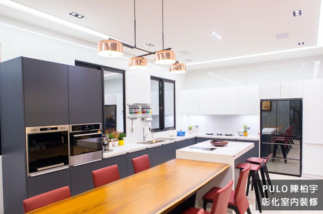 42種特色簡約廚房裝潢設計靈感-彰化室內裝修