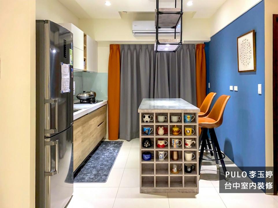 42種特色簡約廚房裝潢設計靈感-台中室內裝修