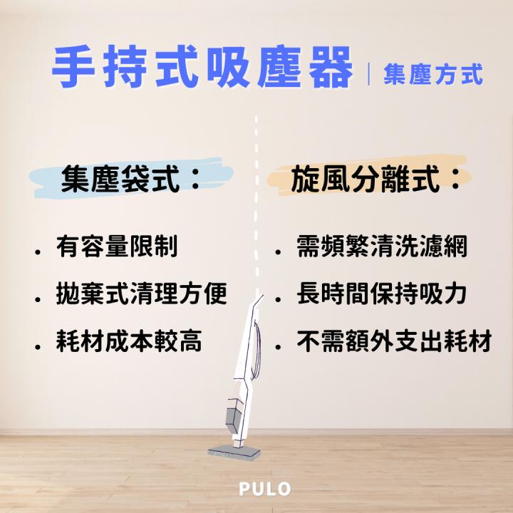 解說手持吸塵器的集塵方式-PULO裝潢平台