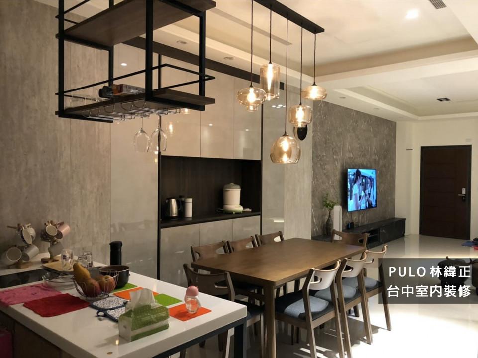 42種木質風廚房餐桌系列裝潢靈感-台中室內裝修