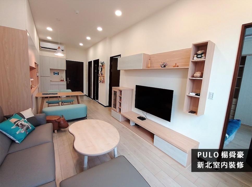 客廳裝潢實例, 60款超實用木質溫馨客廳風格-溫潤系,木質層次美感