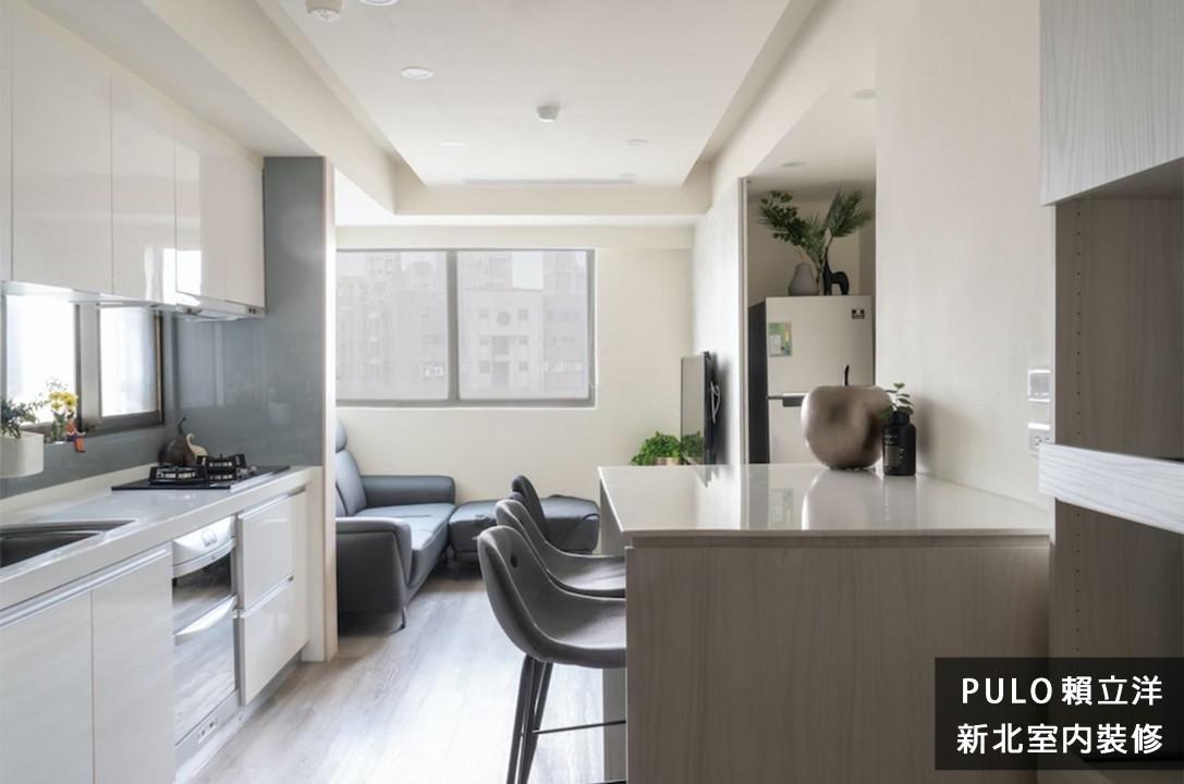 42種極簡風格廚房中島系列裝潢靈感-新北室內裝修