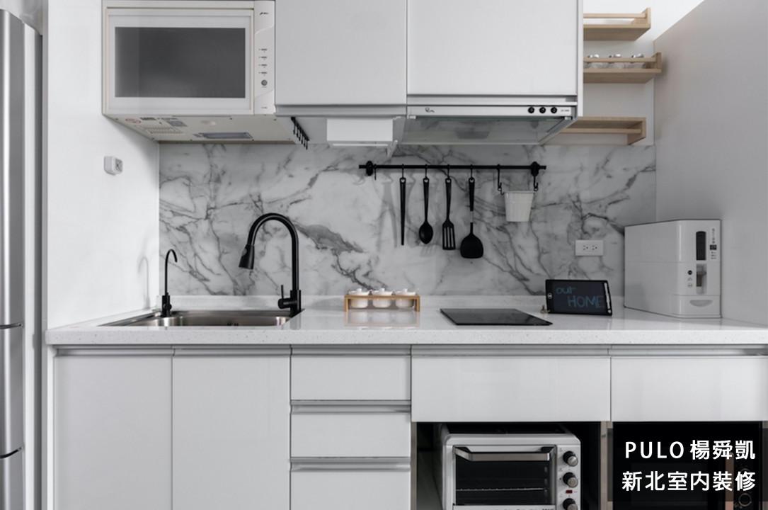 42種特色簡約廚房裝潢設計靈感-新北室內裝修