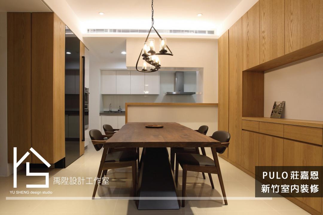 42種木質風廚房餐桌系列裝潢靈感-新竹室內裝修