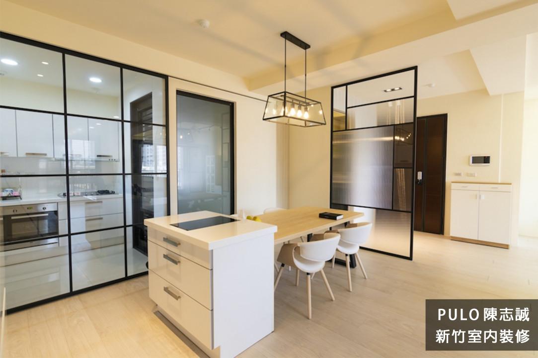 42種特色簡約廚房裝潢設計靈感-新竹室內裝修