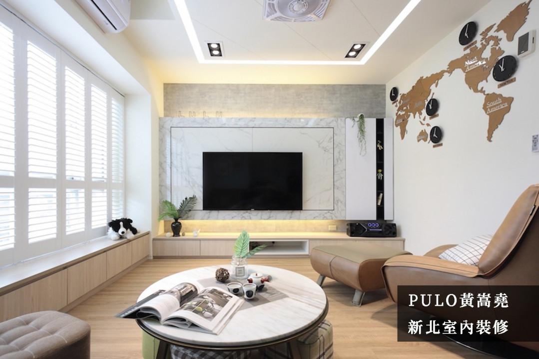 小客廳電視牆怎麼做才美?時尚兼具收納的電視牆要如何設計?40 款電視牆裝潢實例分享