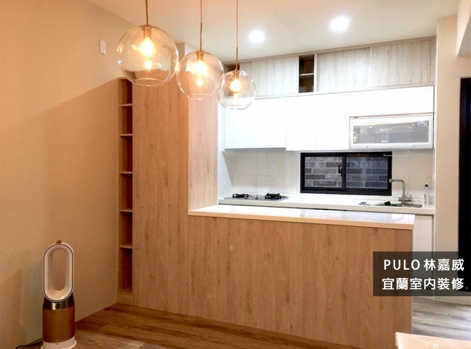 42種木質風廚房餐桌系列裝潢靈感-宜蘭室內裝修